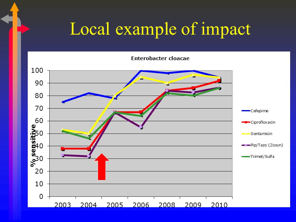 Local example of impact