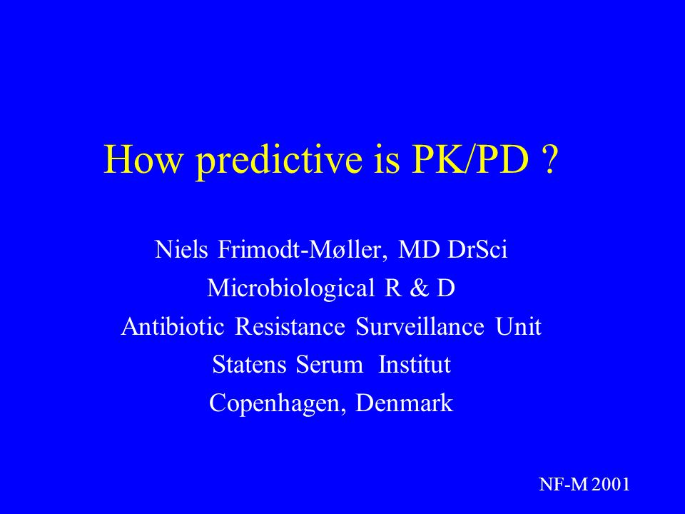 How predictive is PK/PD .