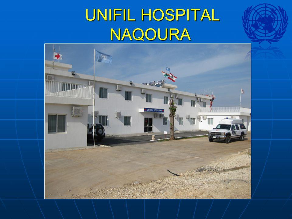 UNIFIL HOSPITAL NAQOURA UNIFIL HOSPITAL NAQOURA