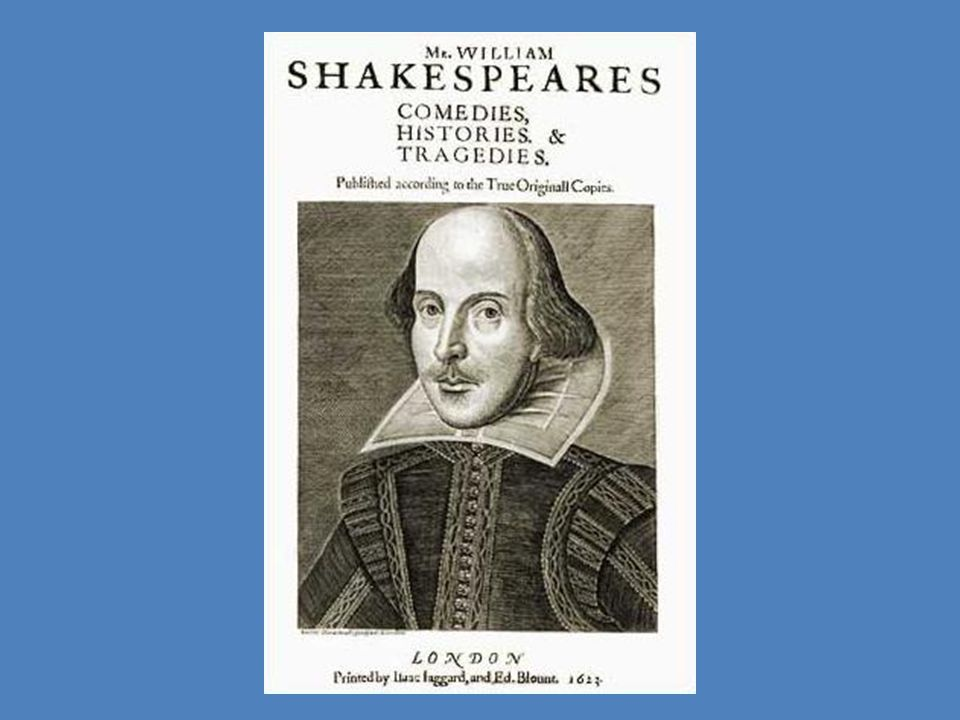 How were Shakespeare's plays published.