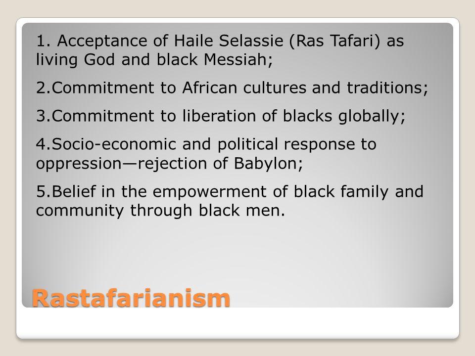 Rastafarianism 1.