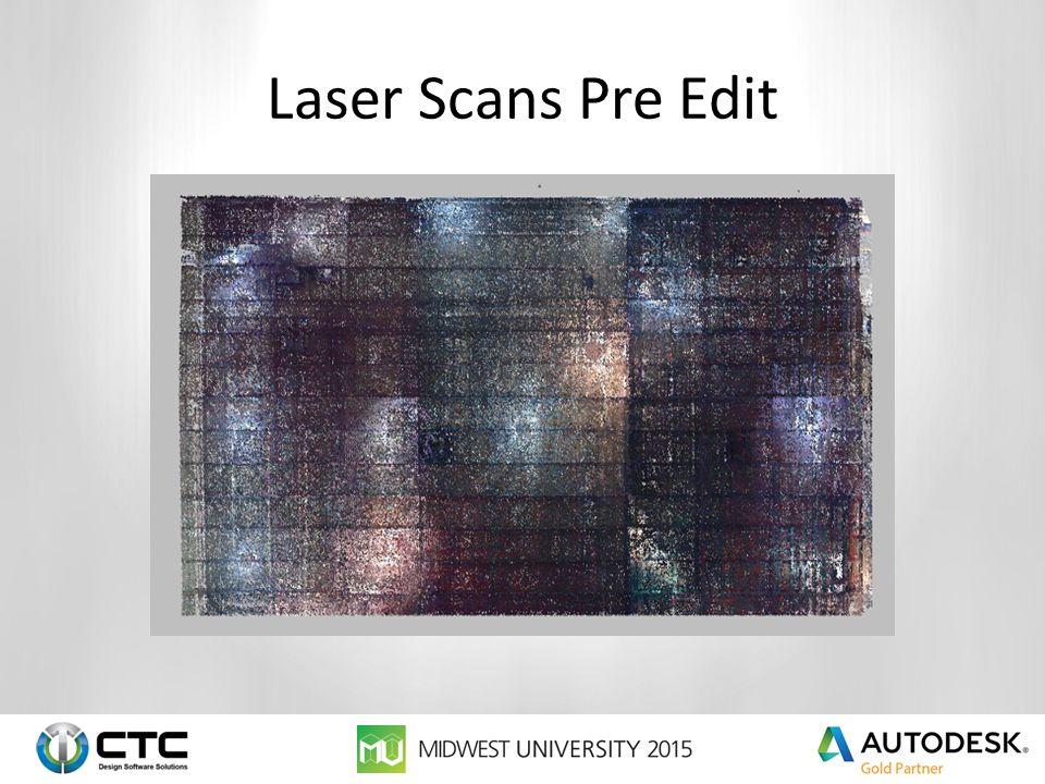 Laser Scans Pre Edit
