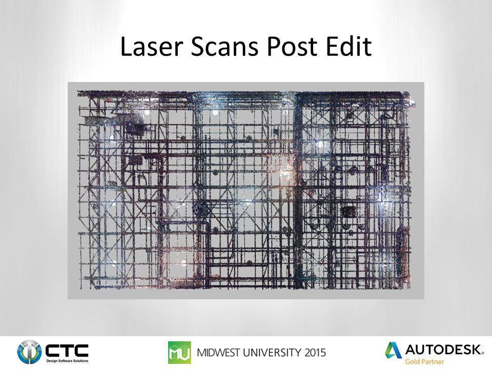 Laser Scans Post Edit