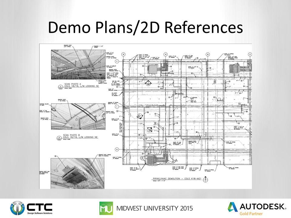 Demo Plans/2D References