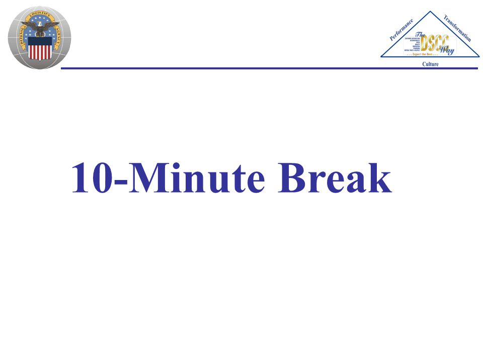 10-Minute Break