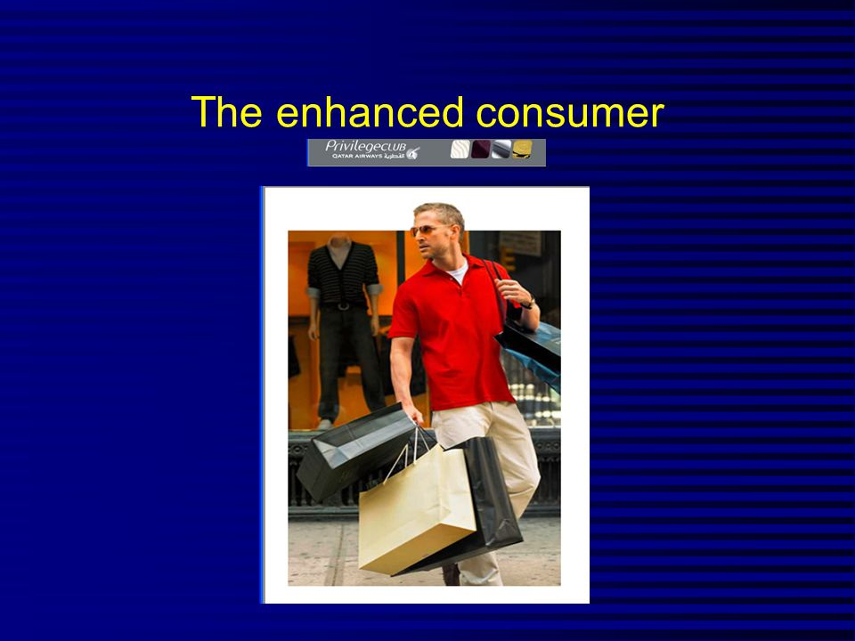 The enhanced consumer