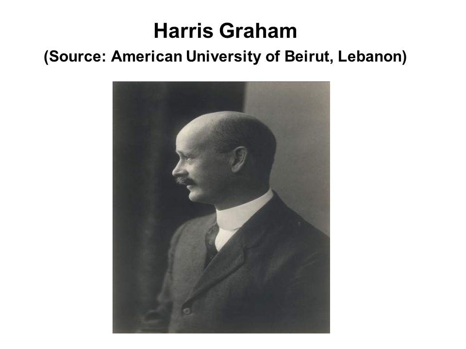 Harris Graham (Source: American University of Beirut, Lebanon)