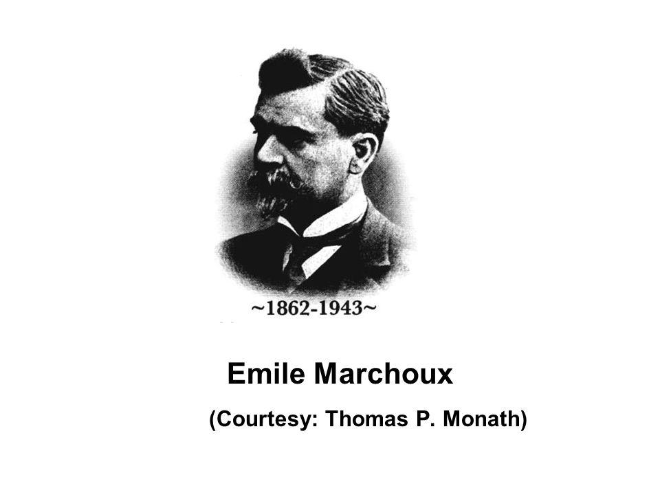 Emile Marchoux (Courtesy: Thomas P. Monath)