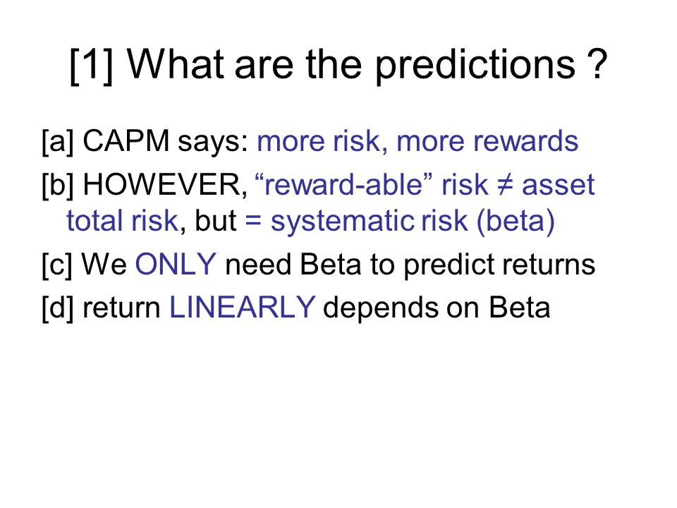 [1] What are the predictions .