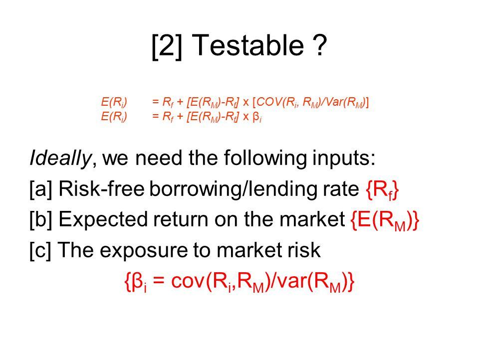 [2] Testable .