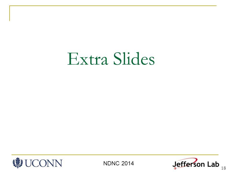 18 Extra Slides NDNC 2014