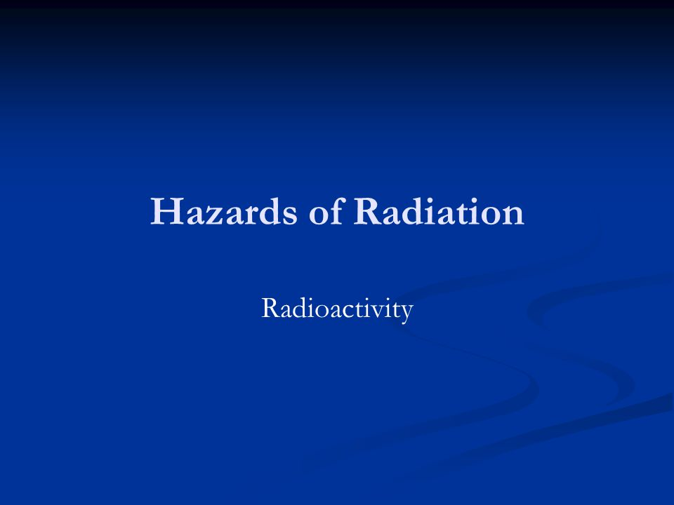 Learning Objectives Recap properties of α, β, γ radiation.