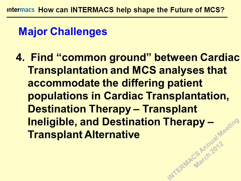 Major Challenges 4.