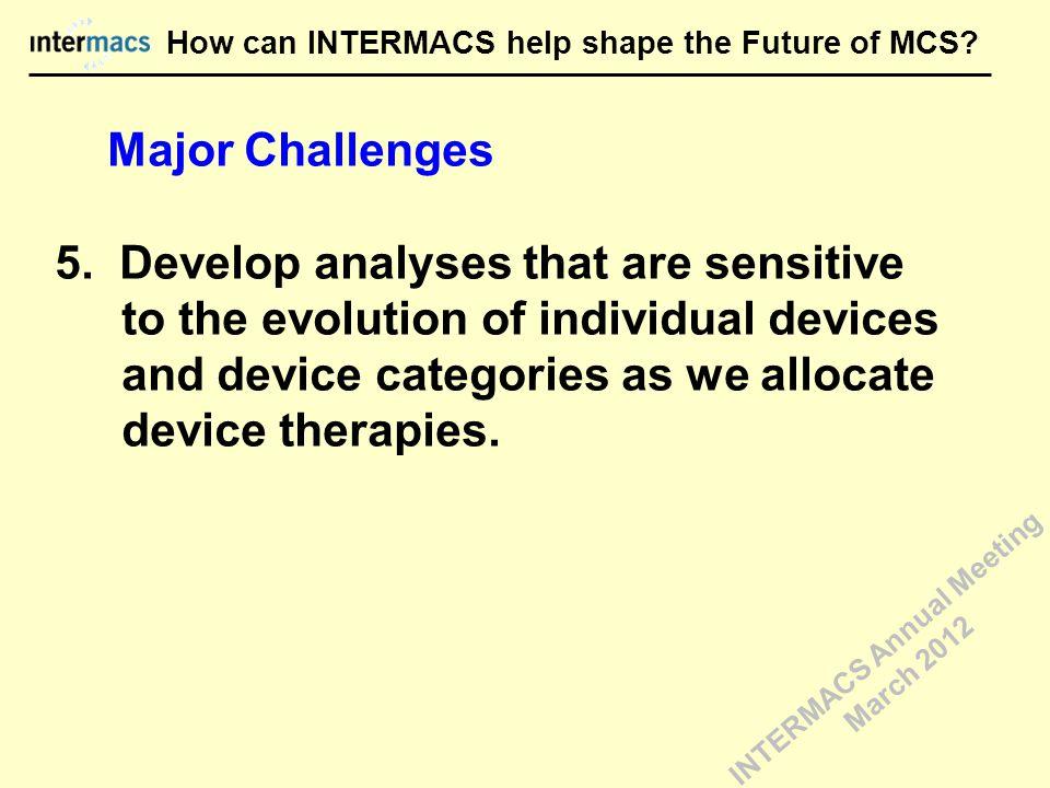 Major Challenges 5.