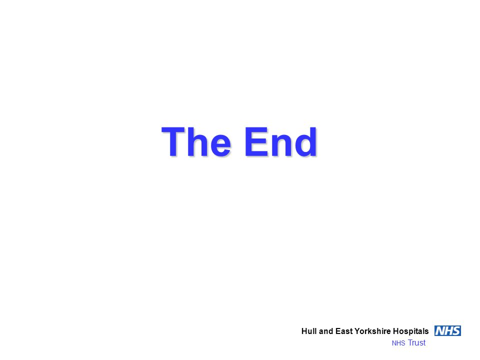 The End Hull and East Yorkshire Hospitals NHS Trust
