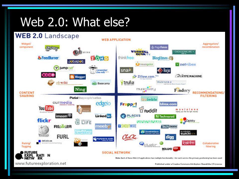 Web 2.0: What else?