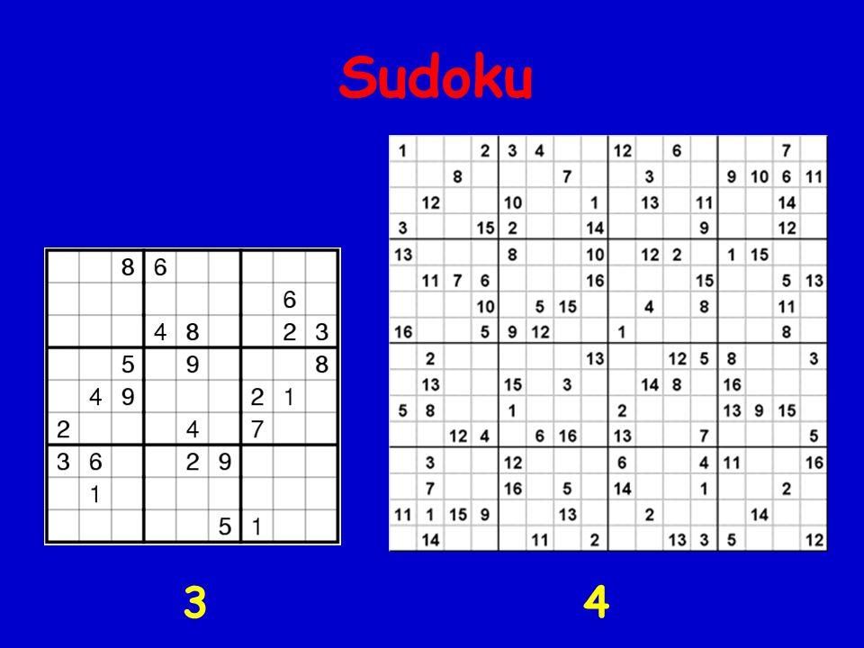 Sudoku 3 4