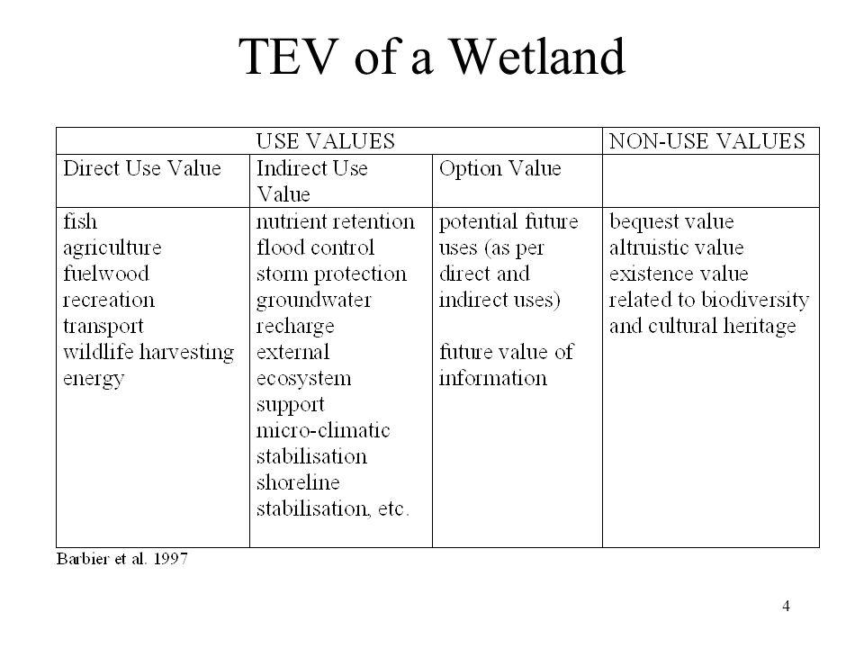 4 TEV of a Wetland