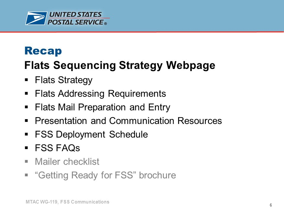 7 Recap Checklist  Address standards – ensure cover wraps comply with address orientation and location requirements  For attached mail – Evaluate envelope stock – window size and location  Affected ZIPs  Barcode requirements  Bundle and container preparation  Source and contact information for Memphis (OneCode ACS, etc.), PAVE-certified software lists, CASS lists, etc.