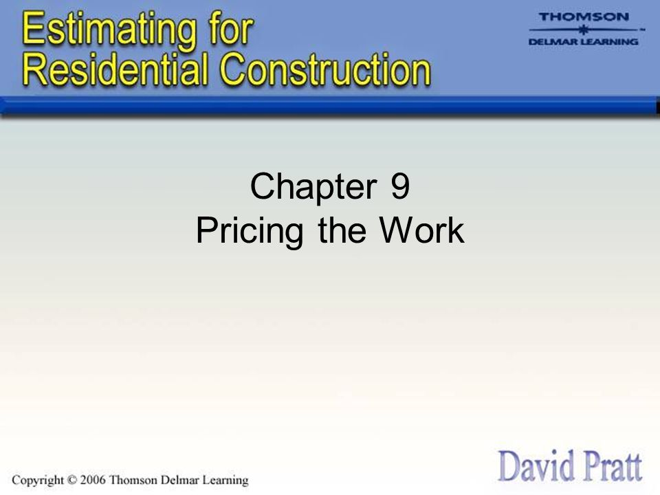 Pricing Concrete Materials When pricing concrete materials: –Does the concrete described in the quote meet the specifications.