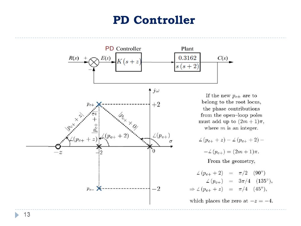 13 PD Controller