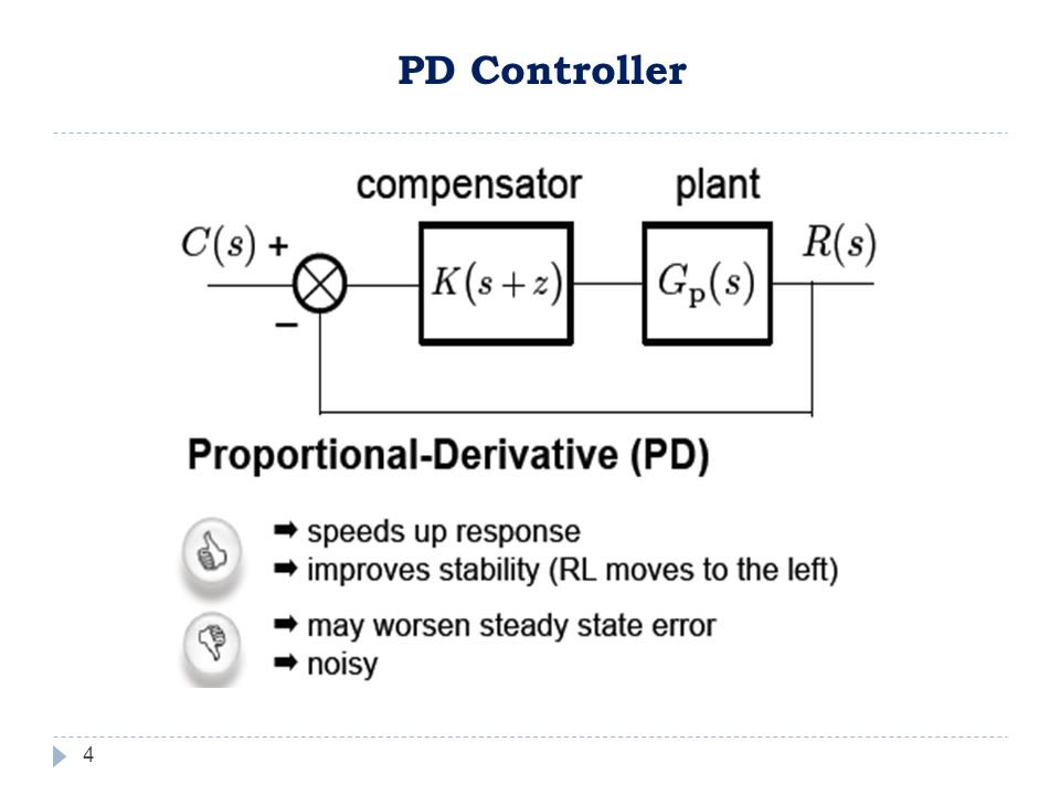 4 PD Controller