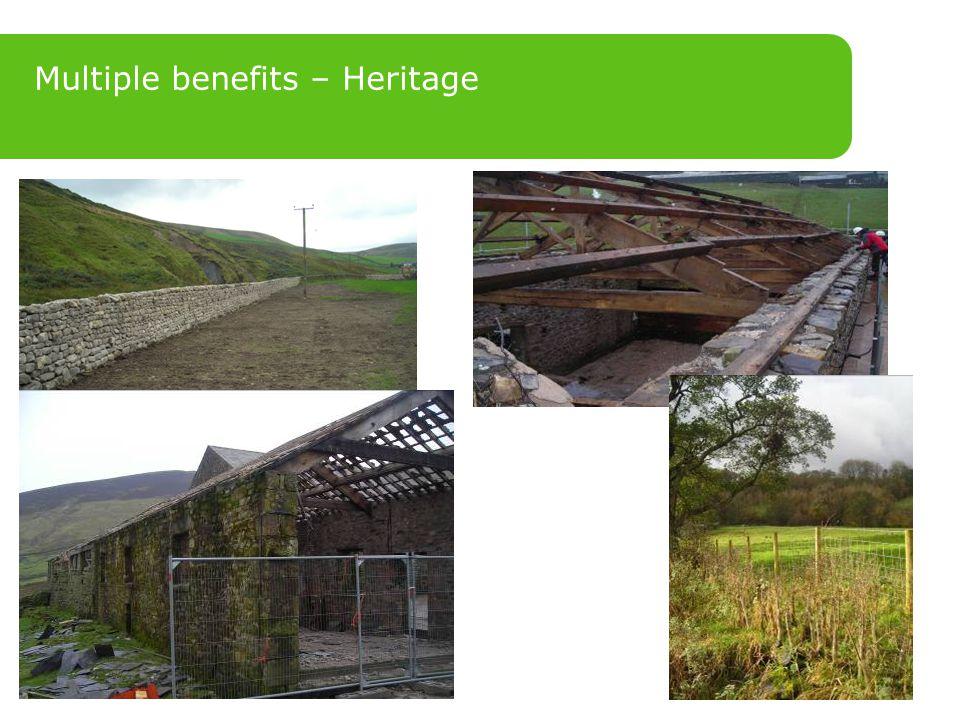 Multiple benefits – Heritage