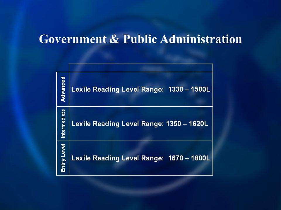 Government & Public Administration