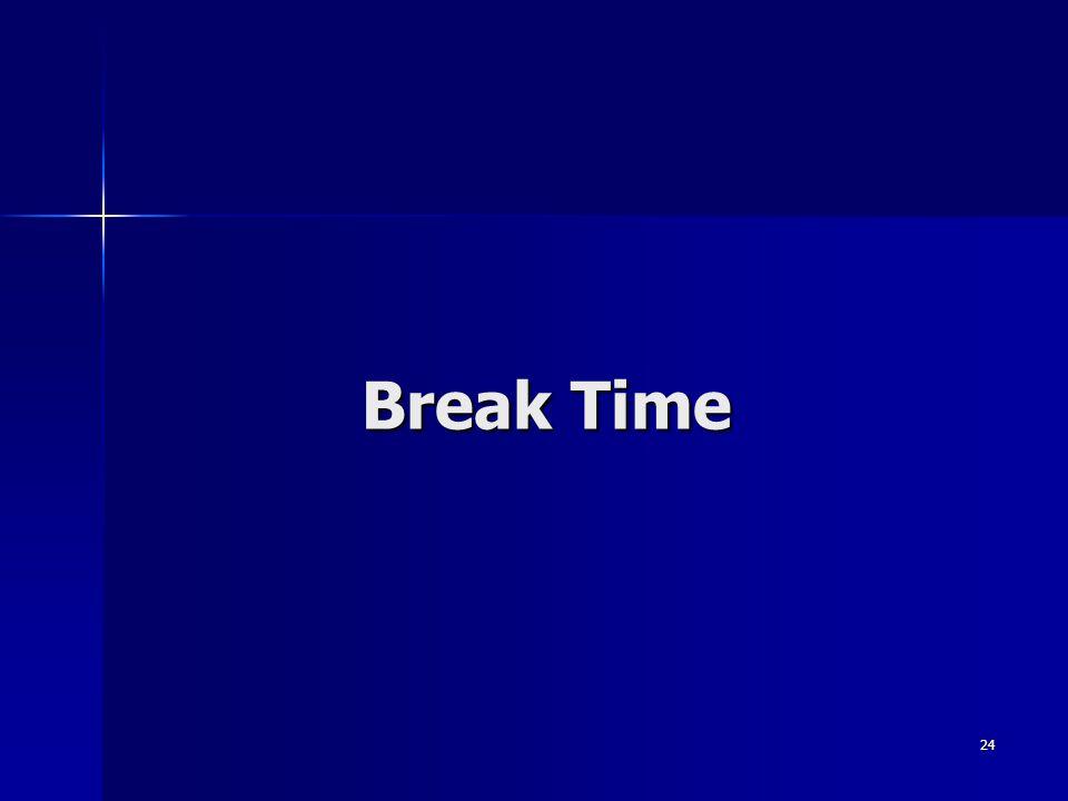 24 Break Time