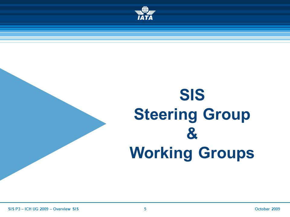 October 2009SIS P3 – ICH UG 2009 – Overview SIS16 Insight into IS (Integrated Settlement)