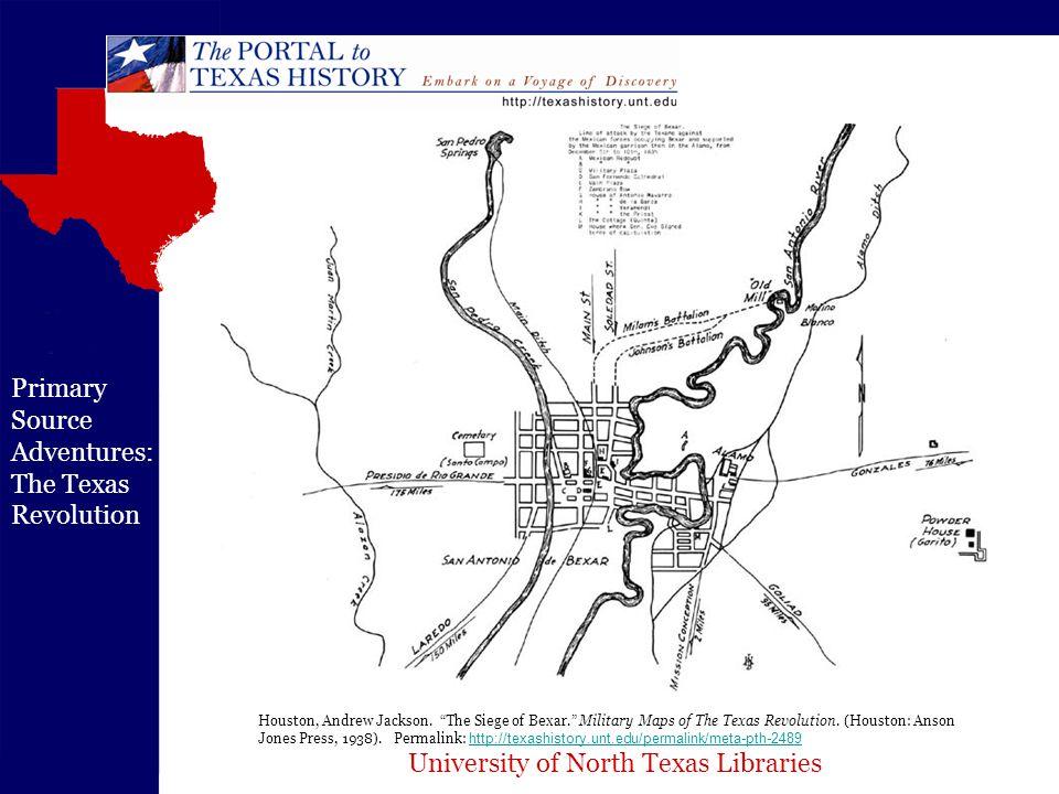 University of North Texas Libraries Primary Source Adventures: The Texas Revolution Lorenzo de Zavala.