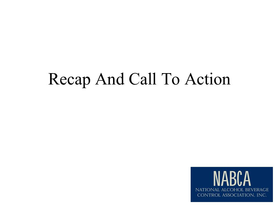 Recap And Call To Action