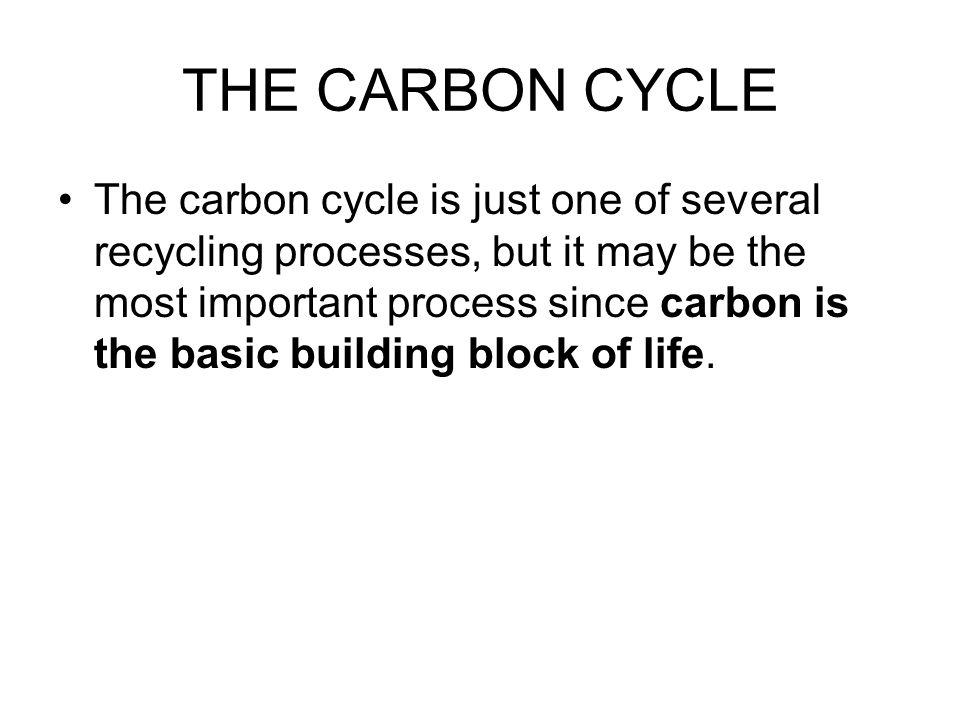 CARBON AND RESPIRATION CONTINUED WHEN ANIMALS RELEASE CARBON DIOXIDE TO THE ATMOSPHERE, THEY DECOMPOSE, DECAY, AND FROM POOLS OF ENERGY CALLED FOSSIL FULES (INCLUDING COAL, OIL, AND NATURAL GASES)