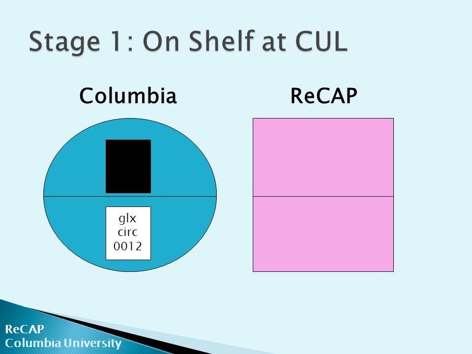 ReCAP Columbia University ColumbiaReCAP glx circ 0012