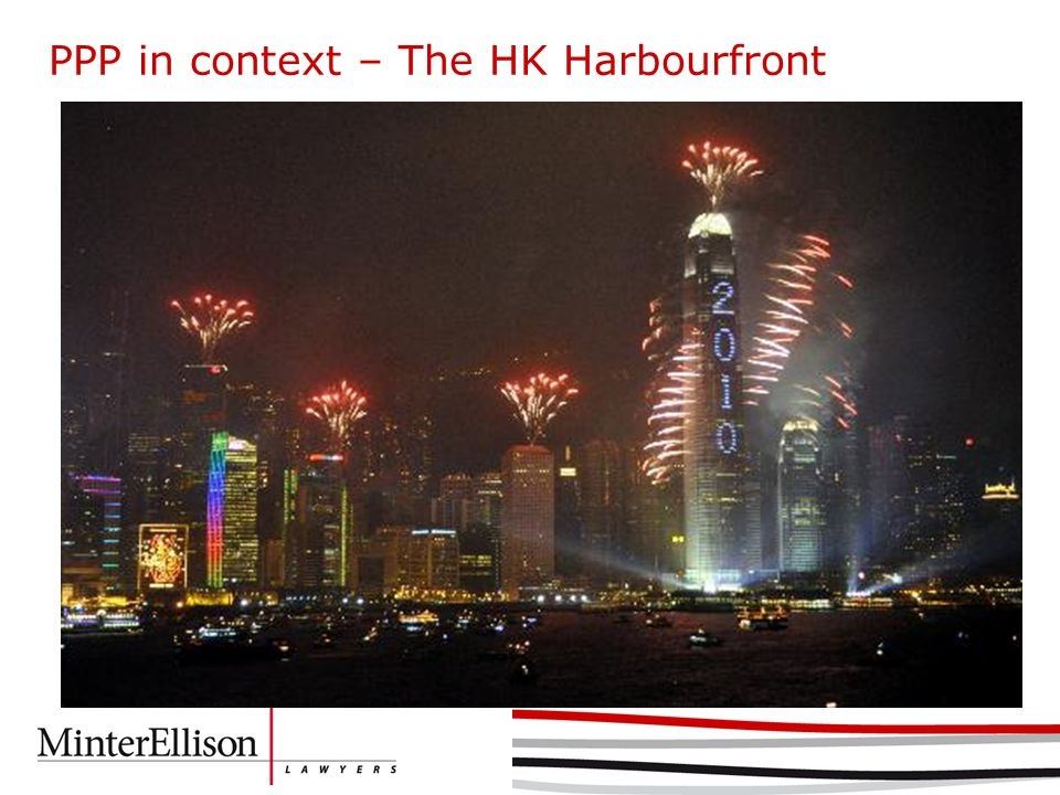PPP in context – The HK Harbourfront
