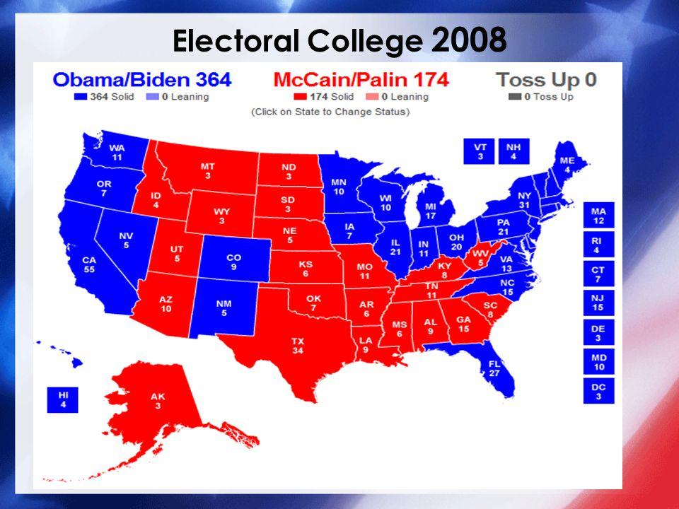 Electoral College 2008