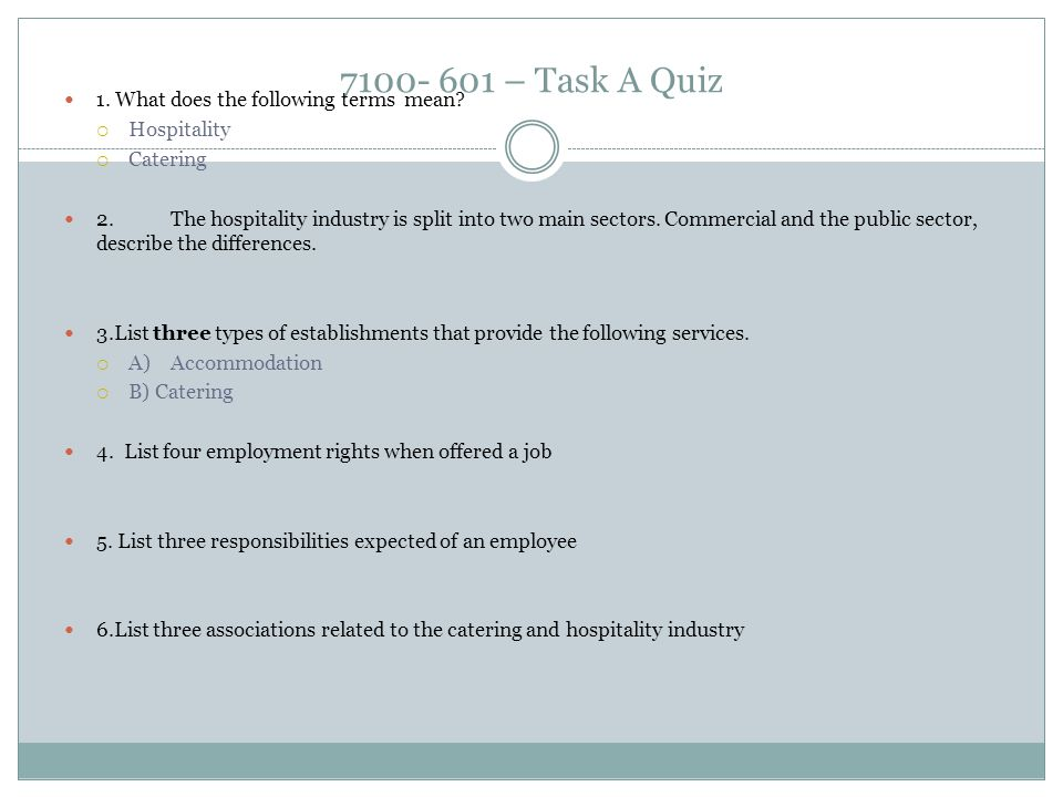 7100- 601 – Task A Quiz 1. What does the following terms mean.