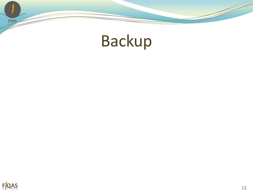 Backup 12