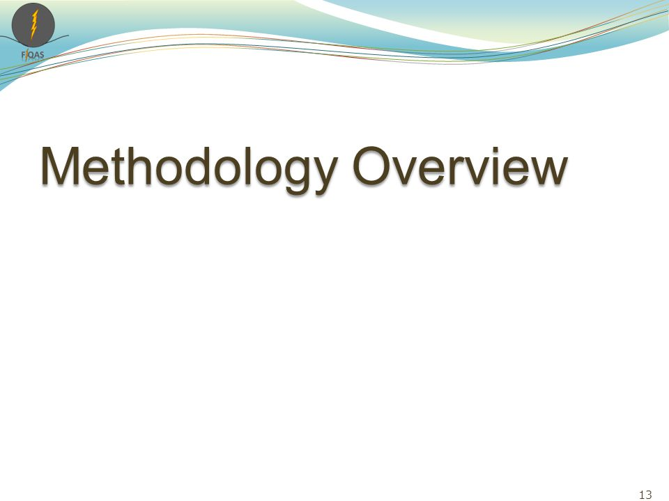 Methodology Overview 13
