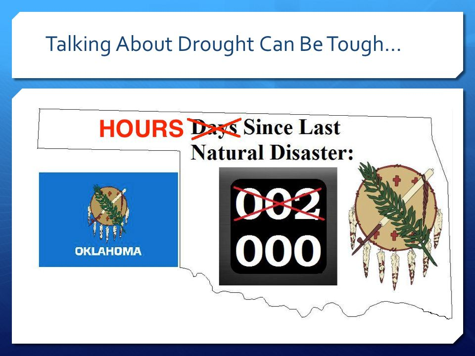 Talking About Drought Can Be Tough…