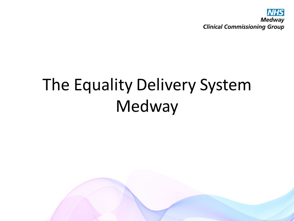 The Equality Delivery System Medway