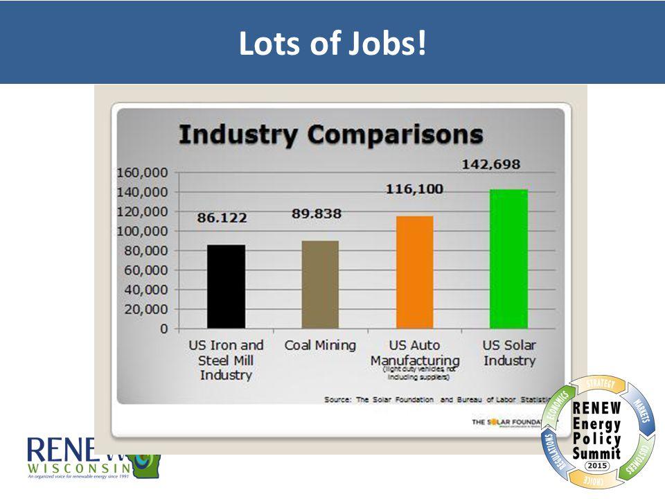 Lots of Jobs!