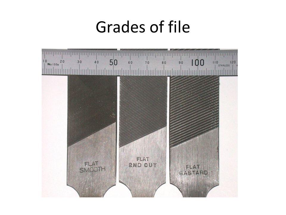 Grades of file
