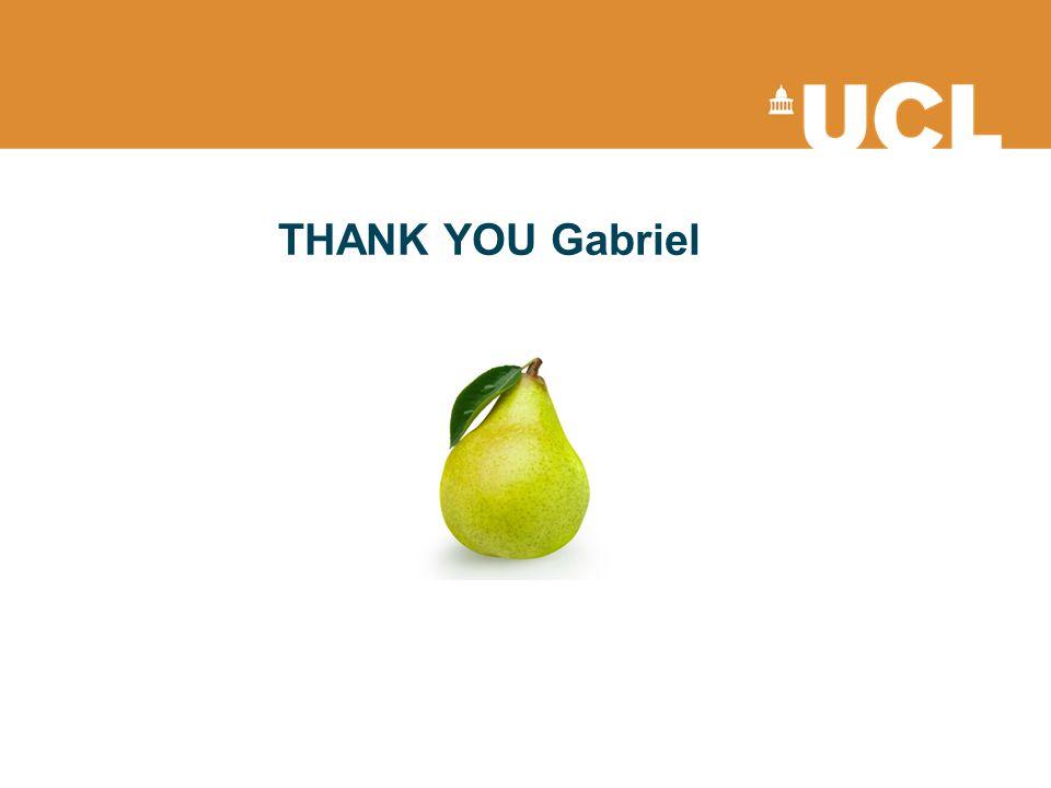 THANK YOU Gabriel
