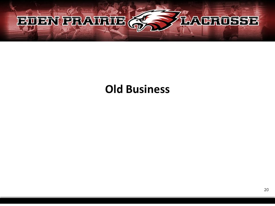 Old Business 20