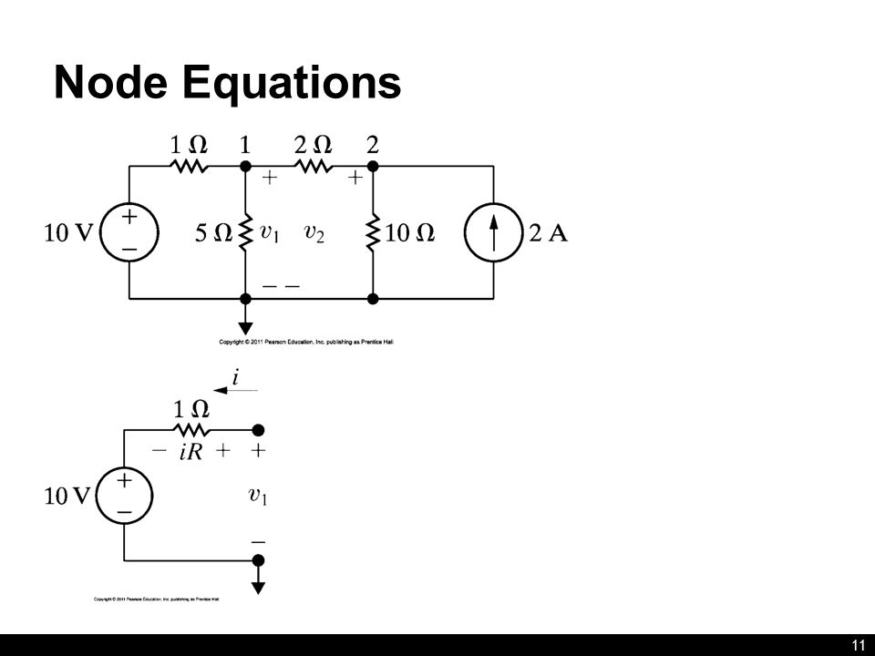 Node Equations 11