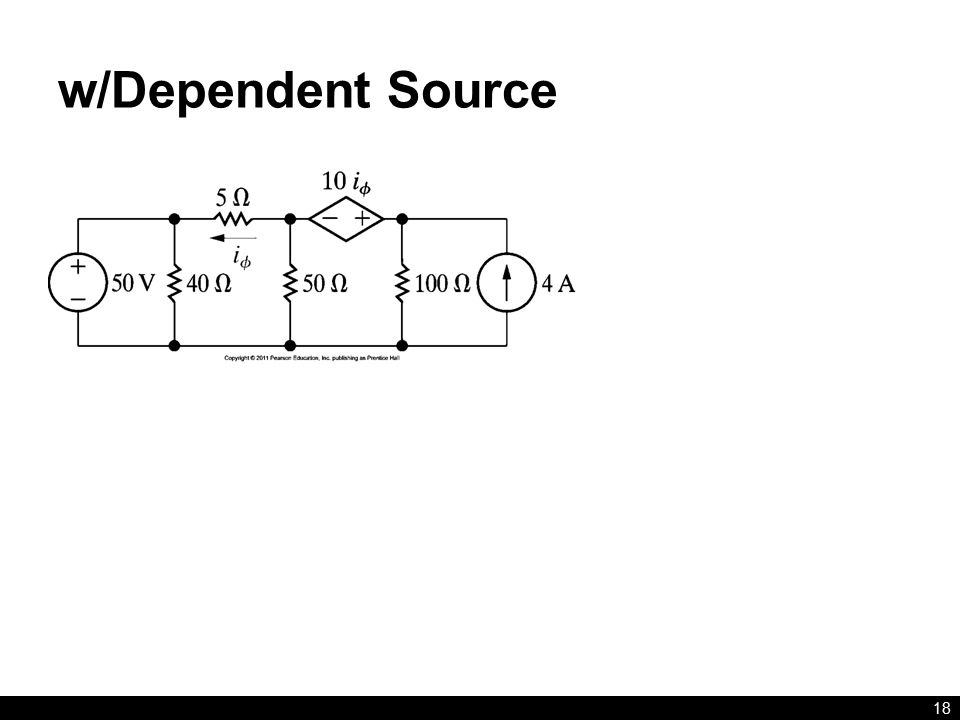 w/Dependent Source 18