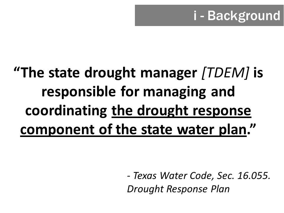- Texas Water Code, Sec. 16.055.