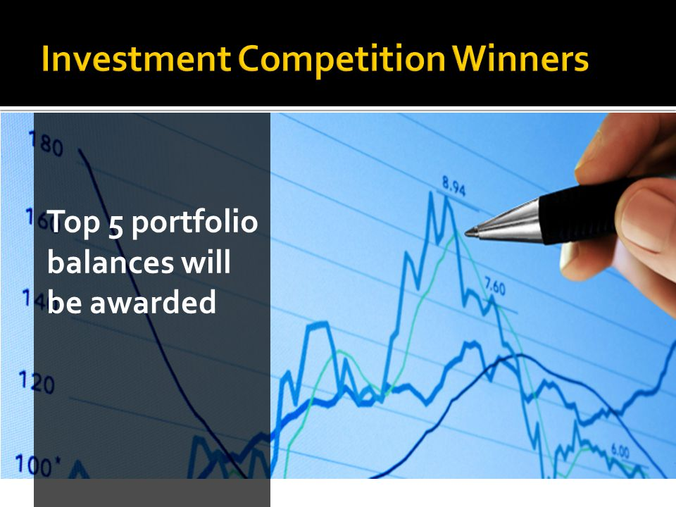 Top 5 portfolio balances will be awarded