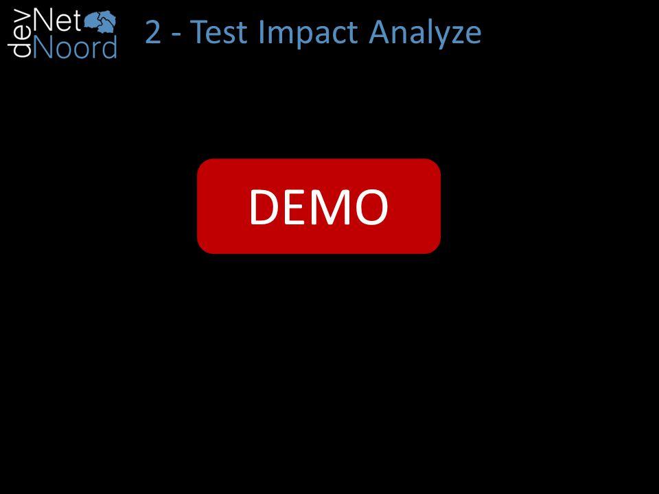 2 - Test Impact Analyze DEMO